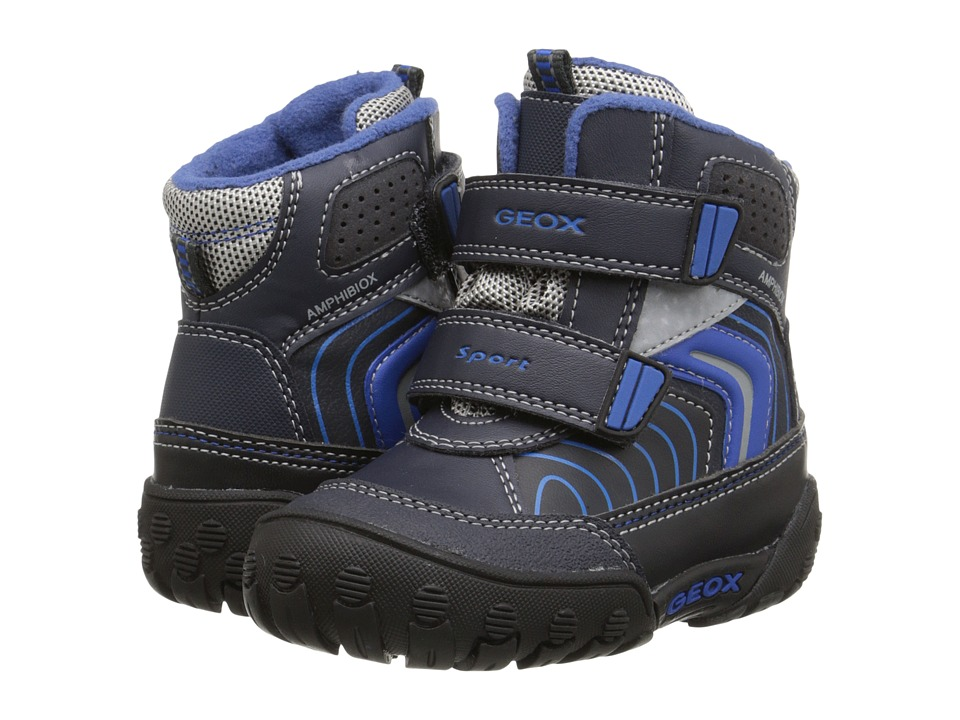 Geox Kids - Gulp Abx 3 (Toddler) (Dark Navy/Royal) Boy's Shoes