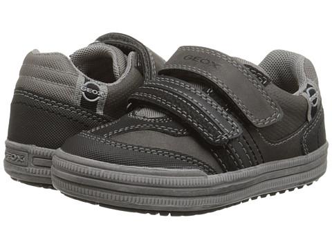 Geox Kids - Jr. Elvis 26 (Toddler/Little Kid) (Grey/Black) Boy's Shoes