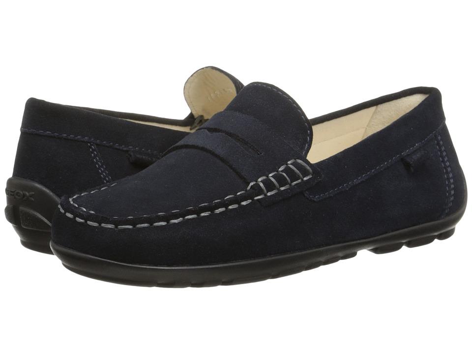 Geox Kids - Jr. Fast 13 (Little Kid/Big Kid) (Navy) Boy's Shoes