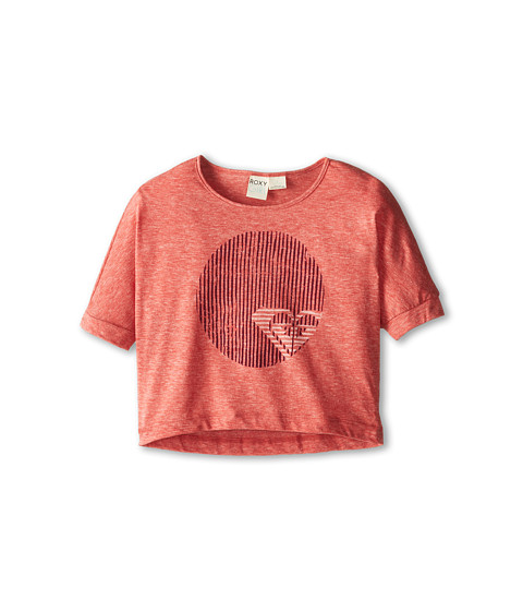 Roxy Kids - Optic Heart Dolman Tee (Big Kids) (Lava) Girl's T Shirt