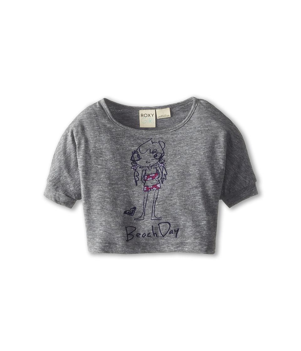 Roxy Kids - Beach Day Dolman Tee (Toddler/Little Kids/Big Kids) (Heritage Heather) Girl's T Shirt