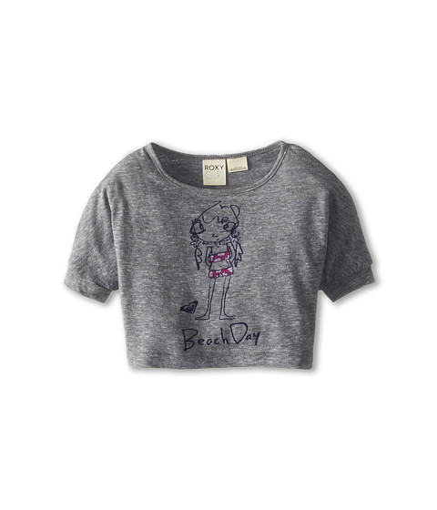 Roxy Kids - Beach Day Dolman Tee (Toddler/Little Kids/Big Kids) (Heritage Heather) Girl