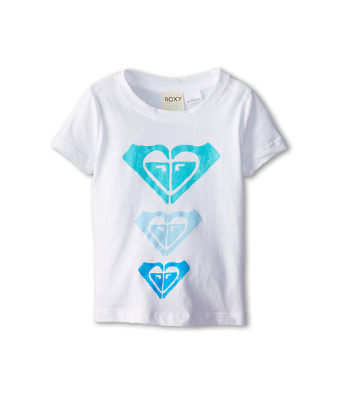 Roxy Kids - Trio Crew Neck Tee (Toddler/Little Kids/Big Kids) (Sea Salt) Girl