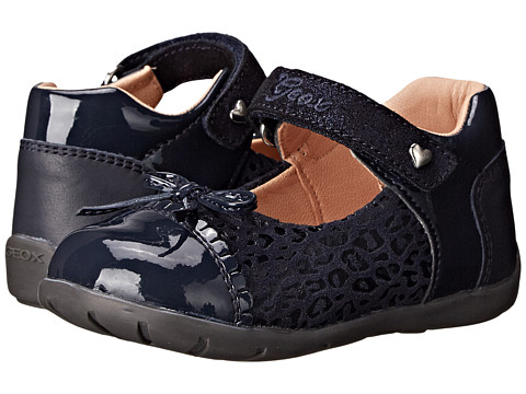 Geox Kids - Kaytan 20 (Toddler) (Dark Navy) Girls Shoes