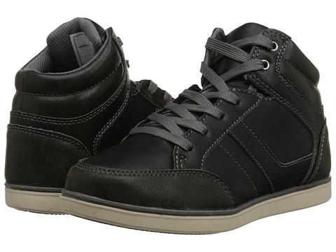 Steve Madden Kids - Tobie (Toddler/Little Kid/Big Kid) (Black) Boy's Shoes