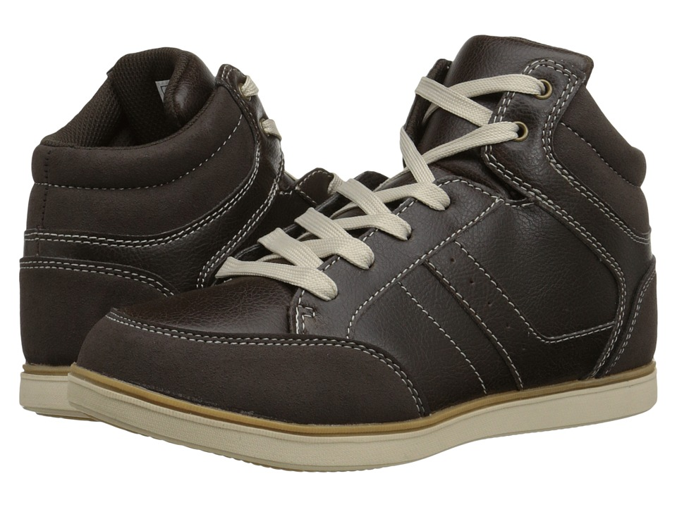 Steve Madden Kids - Tommie (Toddler/Little Kid/Big Kid) (Brown) Boys Shoes