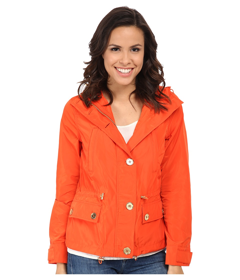 MICHAEL Michael Kors - Mini Anorak (Dark Clementine) Women's Coat
