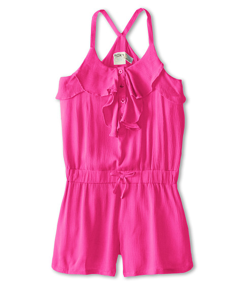Roxy Kids - Breezy Romper (Big Kids) (Berry) Girl's Jumpsuit & Rompers One Piece