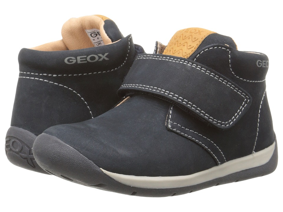Geox Kids - Each 1 (Toddler) (Dark Navy) Boy's Shoes