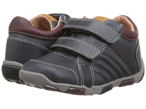 Geox Kids - Balu 46 (Toddler) (Navy/Bordeaux) Boy's Shoes