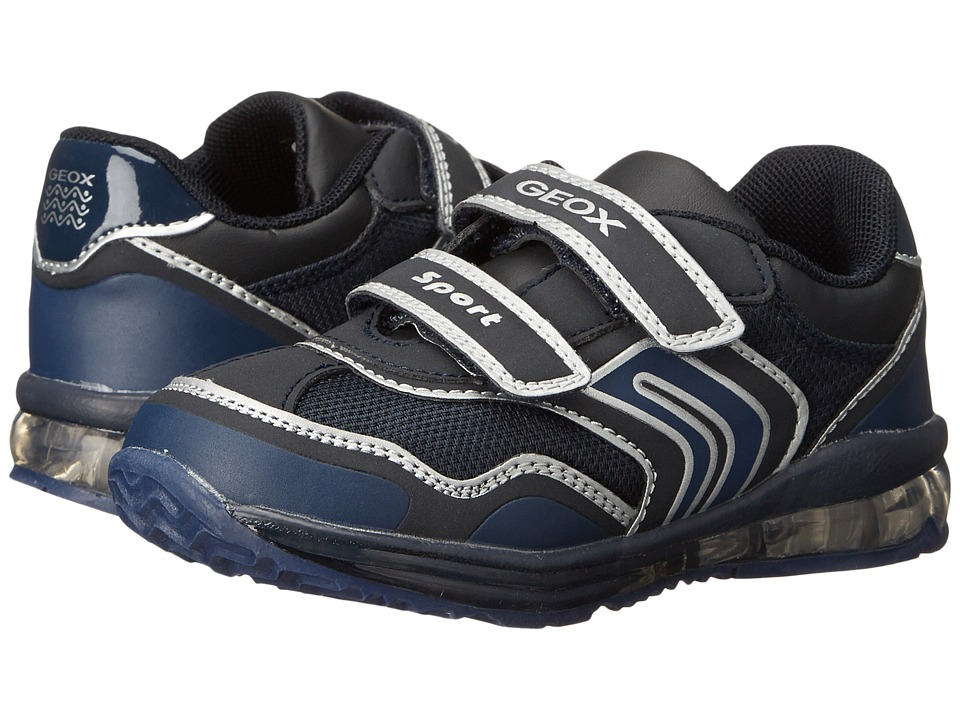 Geox Kids - Todo 1 (Toddler) (Dark Navy/Silver) Boy's Shoes