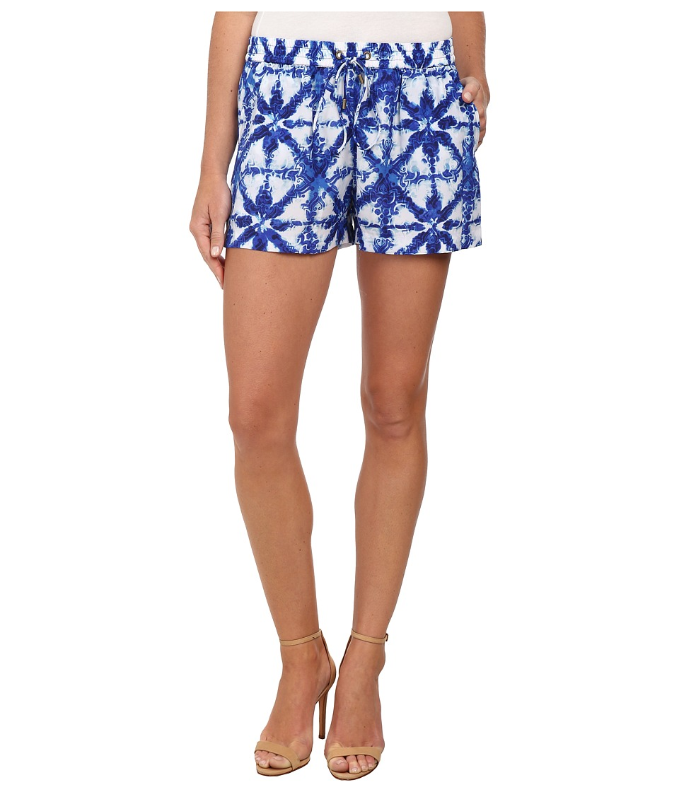 MICHAEL Michael Kors - Glazed Boxer Shorts (Royal) Women