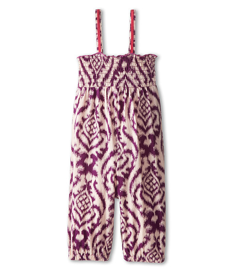 Roxy Kids - Penninsula Romper (Toddler/Little Kids/Big Kids) (Pink Mist) Girl's Jumpsuit & Rompers One Piece