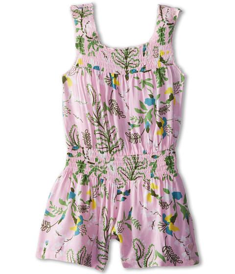 Roxy Kids - Surf Break Romper (Toddler/Little Kids/Big Kids) (Pink Mist) Girl's Dress