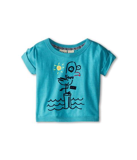 Roxy Kids - Cruisin Top (Toddler/Little Kids/Big Kids) (Baltic Blue) Girl's T Shirt