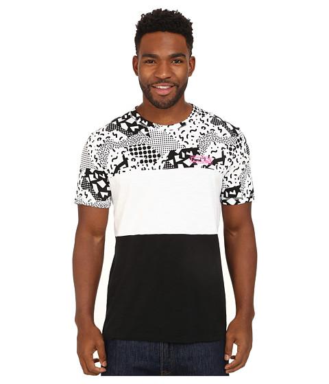 PUMA - Progressive MMQ Tee (White/Prism Violet) Men's T Shirt