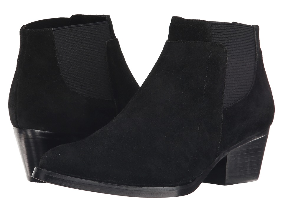 Vaneli Ruella (Black Nival Suede All Over/Black Elastic) Women