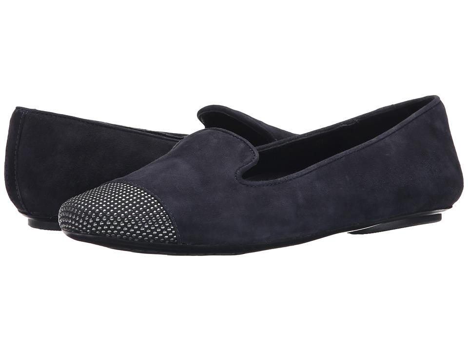 Vaneli - Scarlet (Navy Suede/Gunmetal Studs) Women's Slip on Shoes