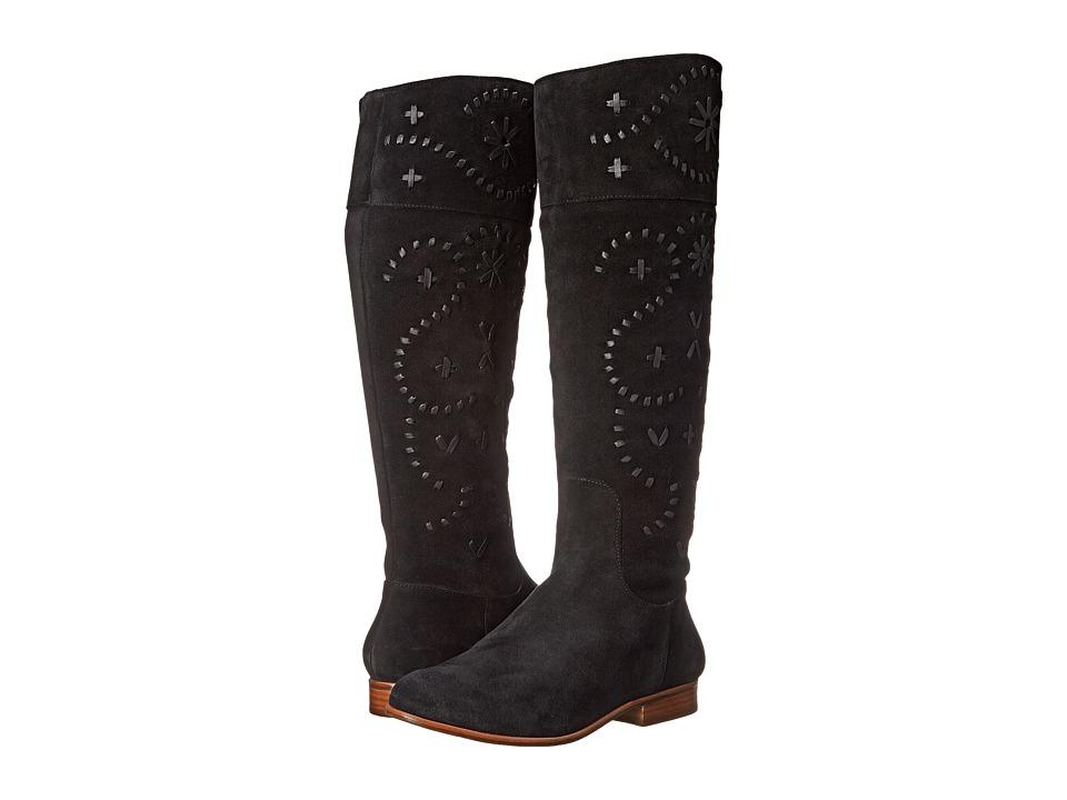 Jack Rogers - Tara Suede (Black) Women's Boots