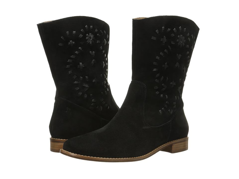 Jack Rogers - Kaitlyn Suede (Black) Women's Boots