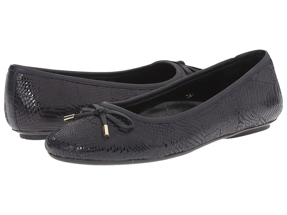 Vaneli - Signy (Navy Patchwork) Women's Flat Shoes