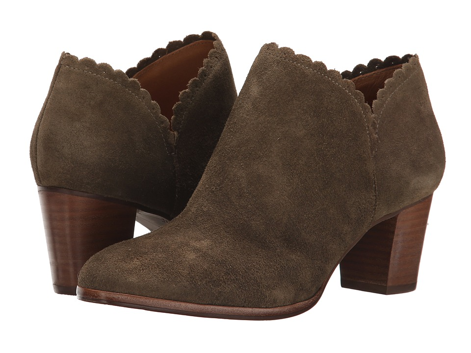 Jack Rogers - Marianne Suede (Olive) Women's Boots