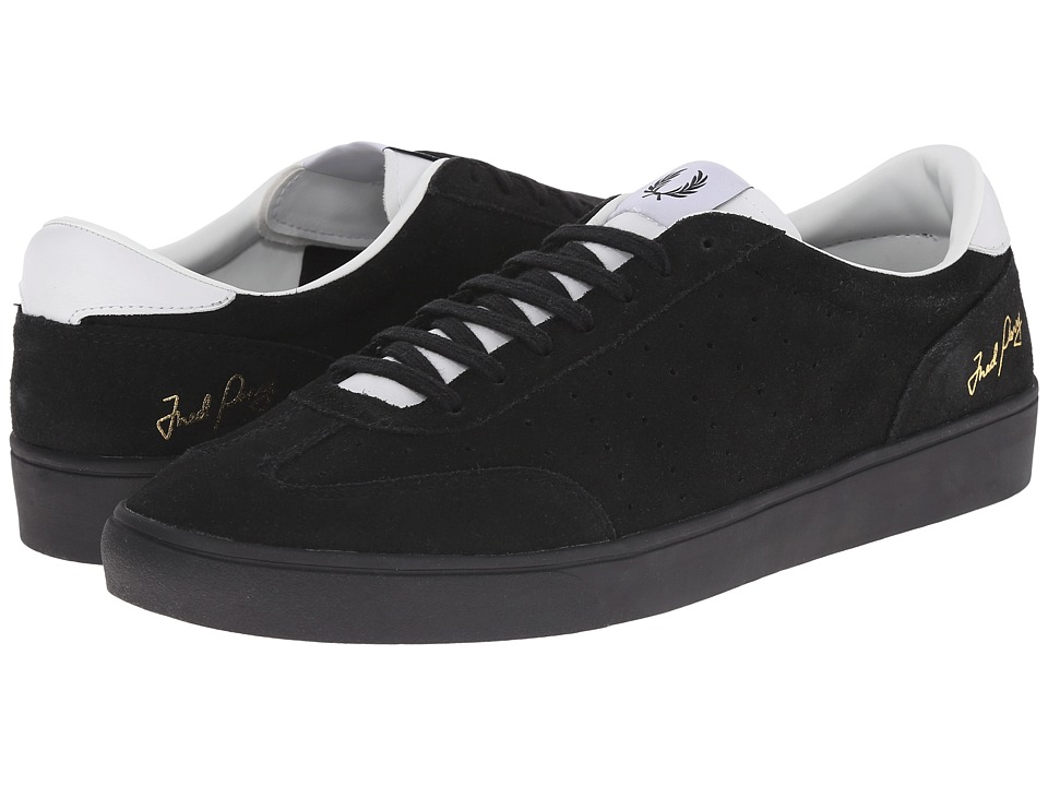 Fred Perry - Umpire Suede (Black) Men's Shoes