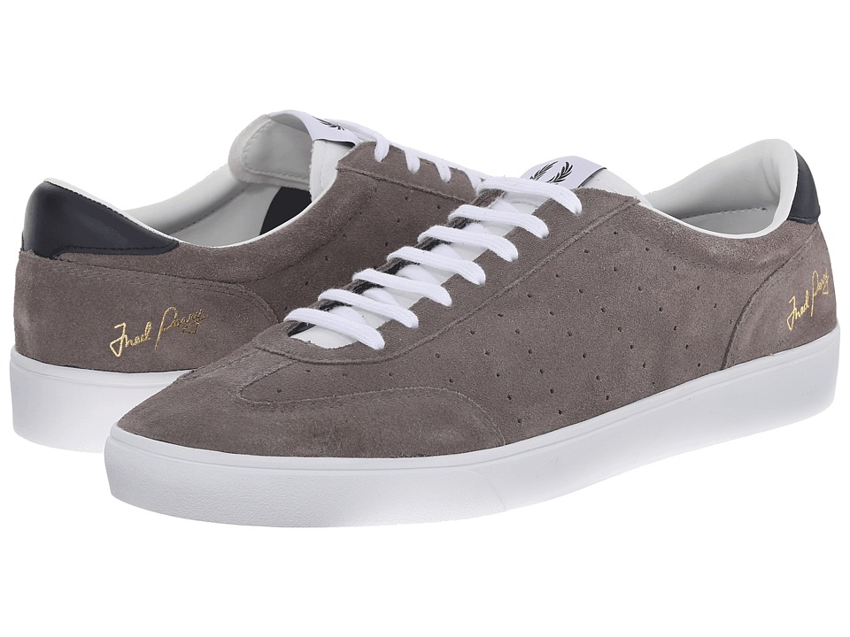 Fred Perry - Umpire Suede (Mid Grey) Men's Shoes