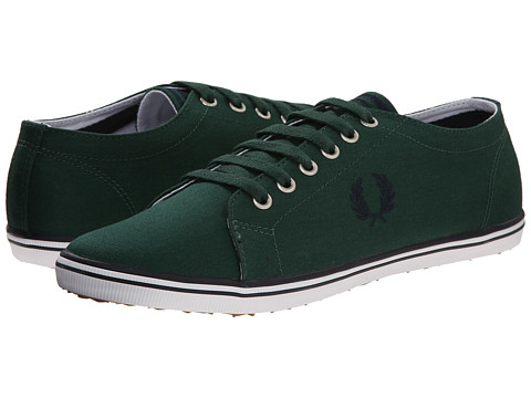 Fred Perry - Kingston Twill (Ivy/Navy) Men's Lace up casual Shoes