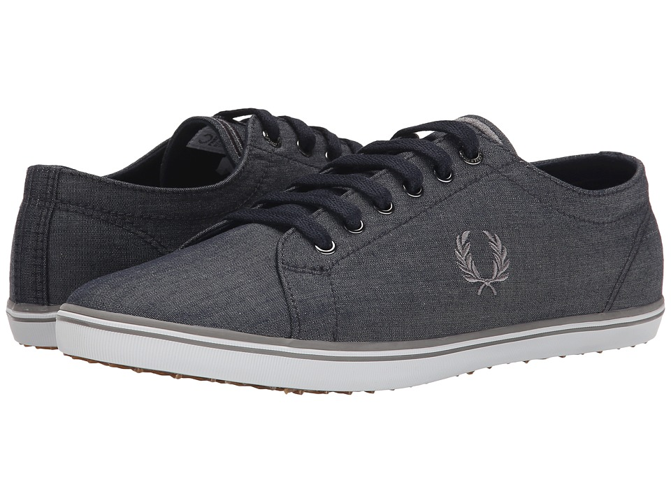 Fred Perry - Kingston Winter Chambray (Navy/Cloudburst) Men's Shoes