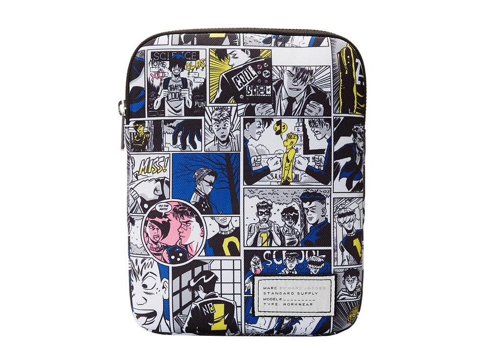 Marc by Marc Jacobs - Comic Print Tech Tablet Case (Wicken White Multi) Computer Bags