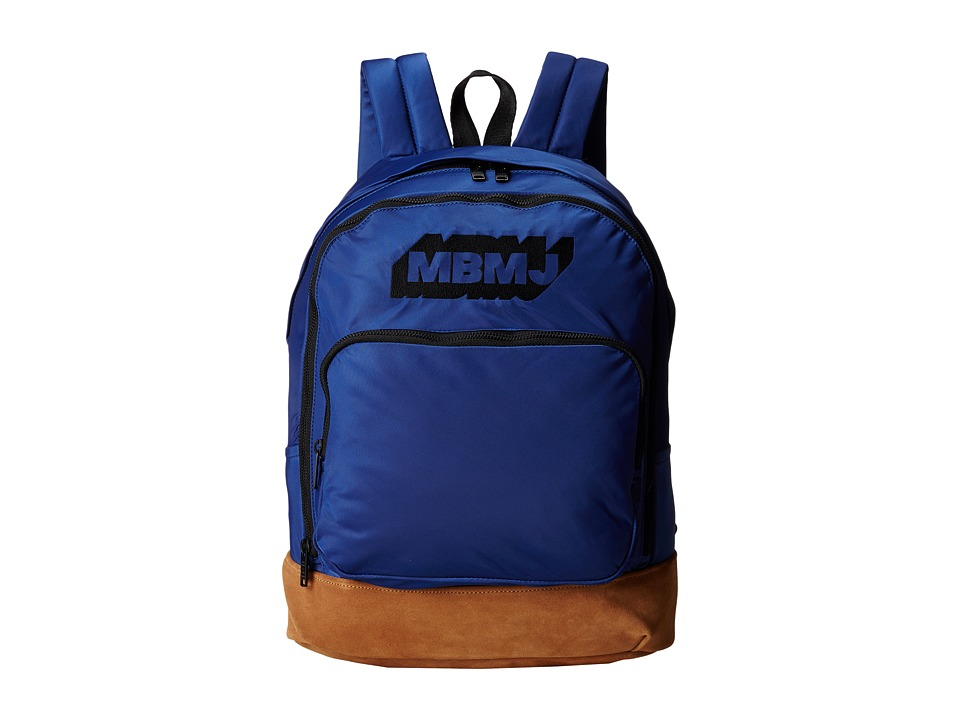 Marc by Marc Jacobs - Ultimate Backpack Embroidered Logo (Mazarine Blue) Backpack Bags