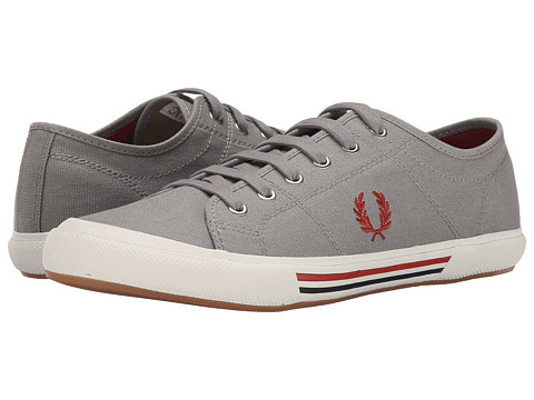 Fred Perry - Vintage Tennis Canvas (Cloudburst/Amber/Navy) Men's Lace up casual Shoes