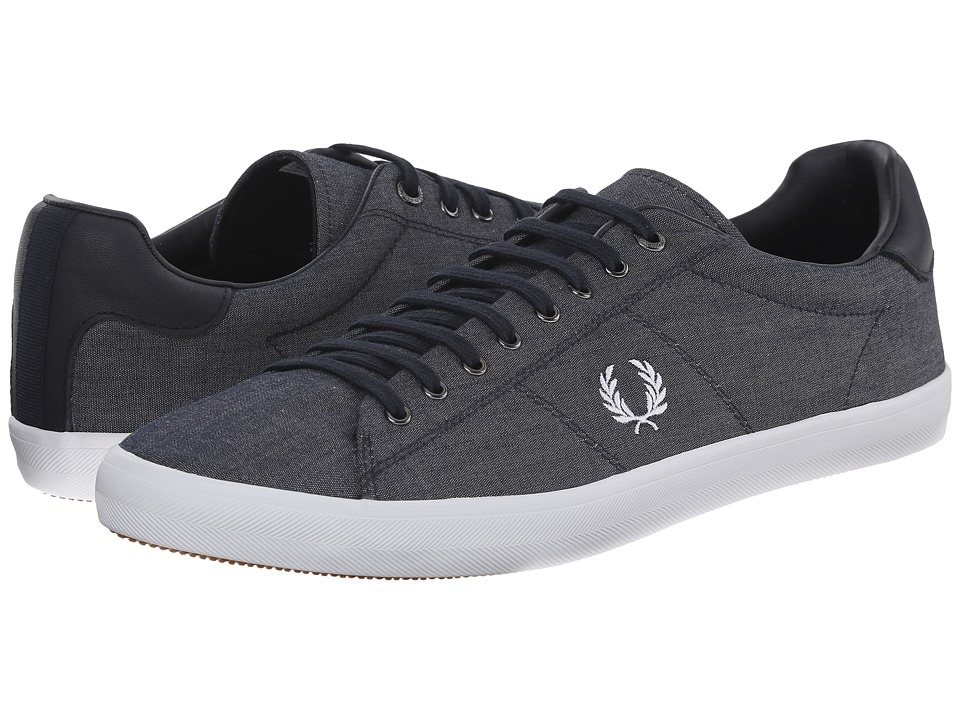 Fred Perry - Howells Winter Chambray (Navy) Men's Shoes