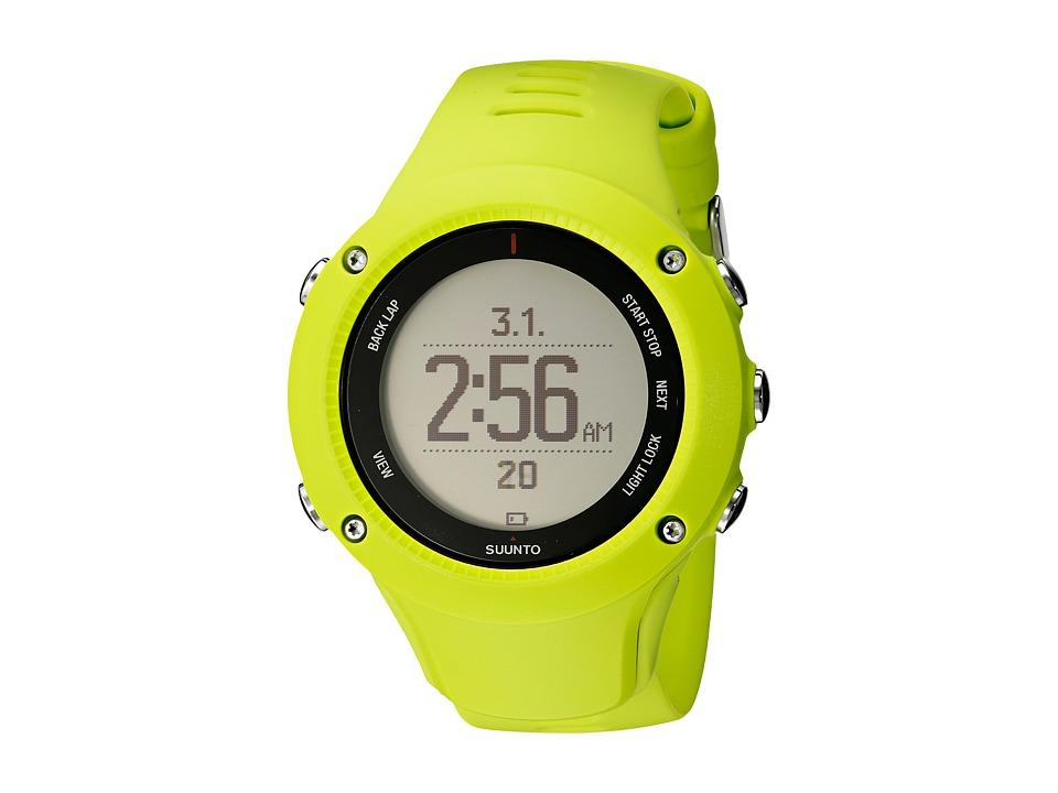 Suunto - Ambit 3 Run HR (Lime) Sport Watches