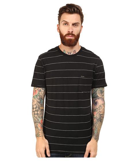 Volcom - Blanco Crew (Black) Men's Clothing