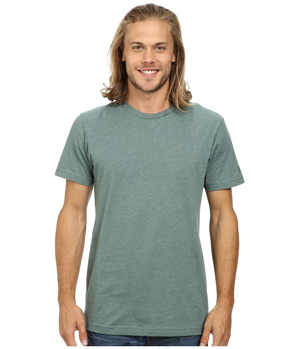 Volcom - Heather S/S Tee (Forest Heather) Men's T Shirt
