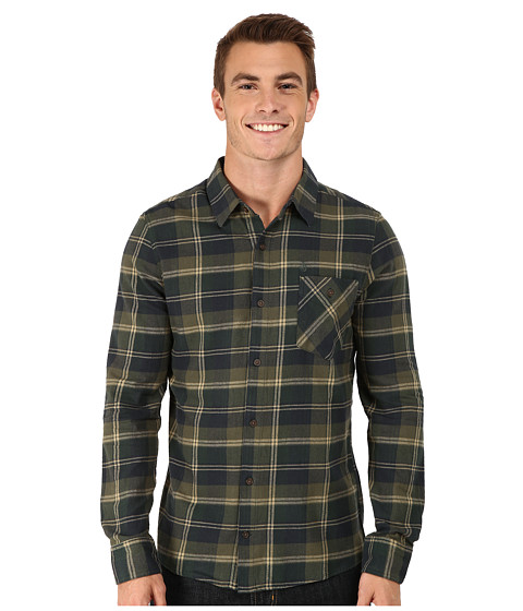 Volcom - Pablo Long Sleeve (Expedition Green) Men