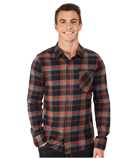 Volcom - Pablo Long Sleeve (Navy) Men