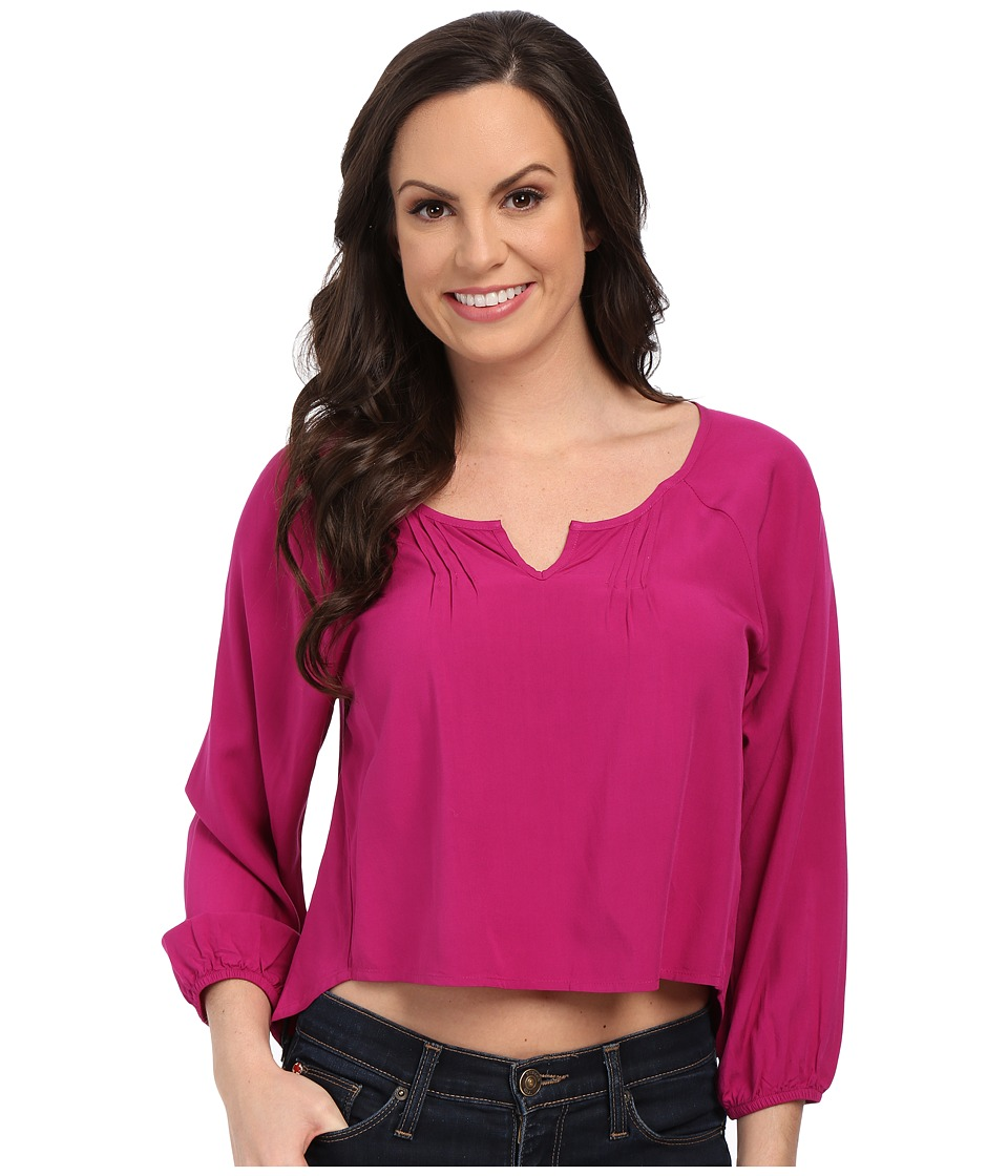 Ariat - Cora Cropped Blouse (Violina) Women's Blouse
