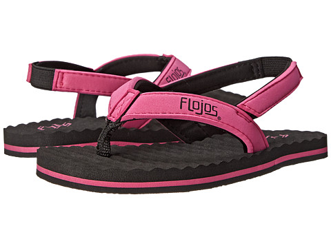 Flojos Kids - Tyke (Toddler) (Pink) Girls Shoes