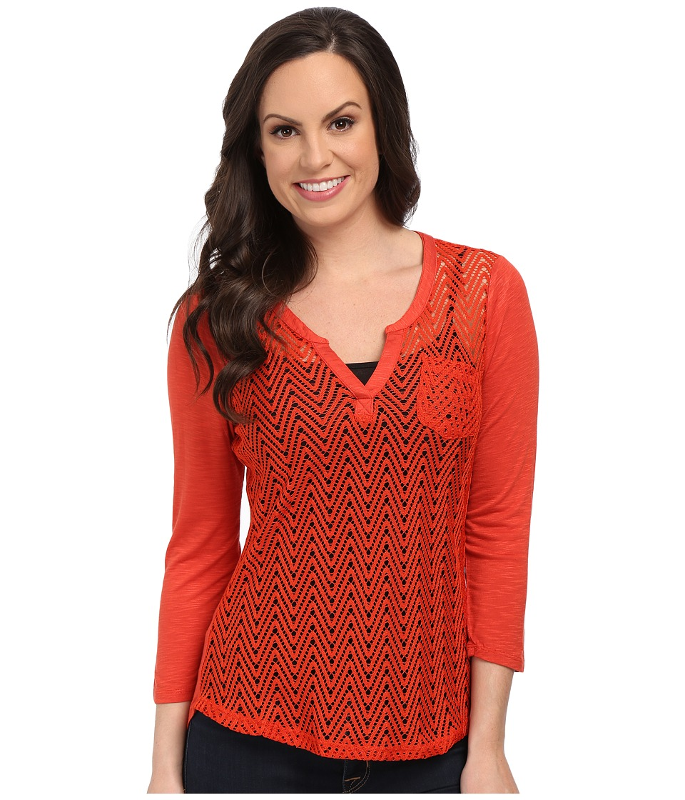 Ariat - Cheryl Top (Volcanic Fire) Women's Long Sleeve Pullover