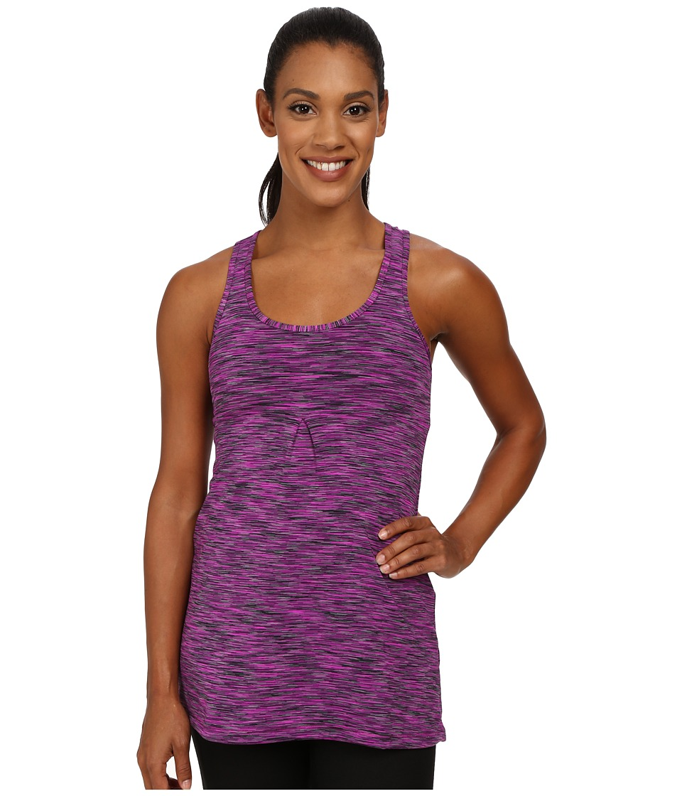 Lucy - Zen Seeker Tunic (Pink Dawn Spacedye) Women's Sleeveless