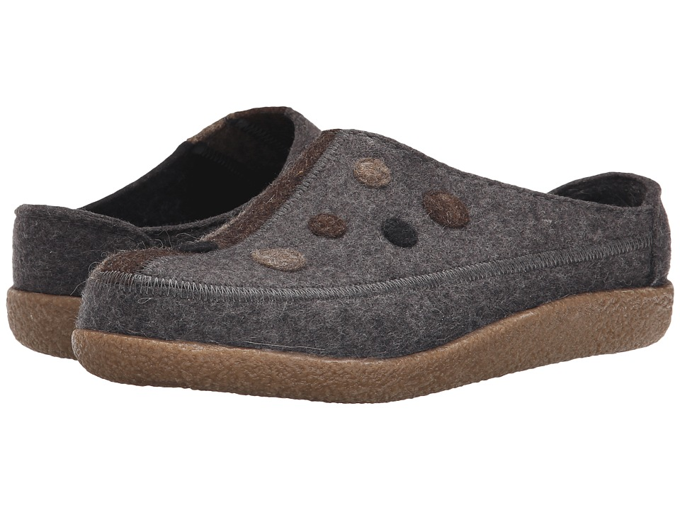 Haflinger - Vanna (Grey) Women's Slippers