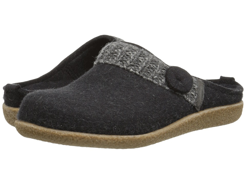 Haflinger - Leslie (Charcoal) Women's Slippers