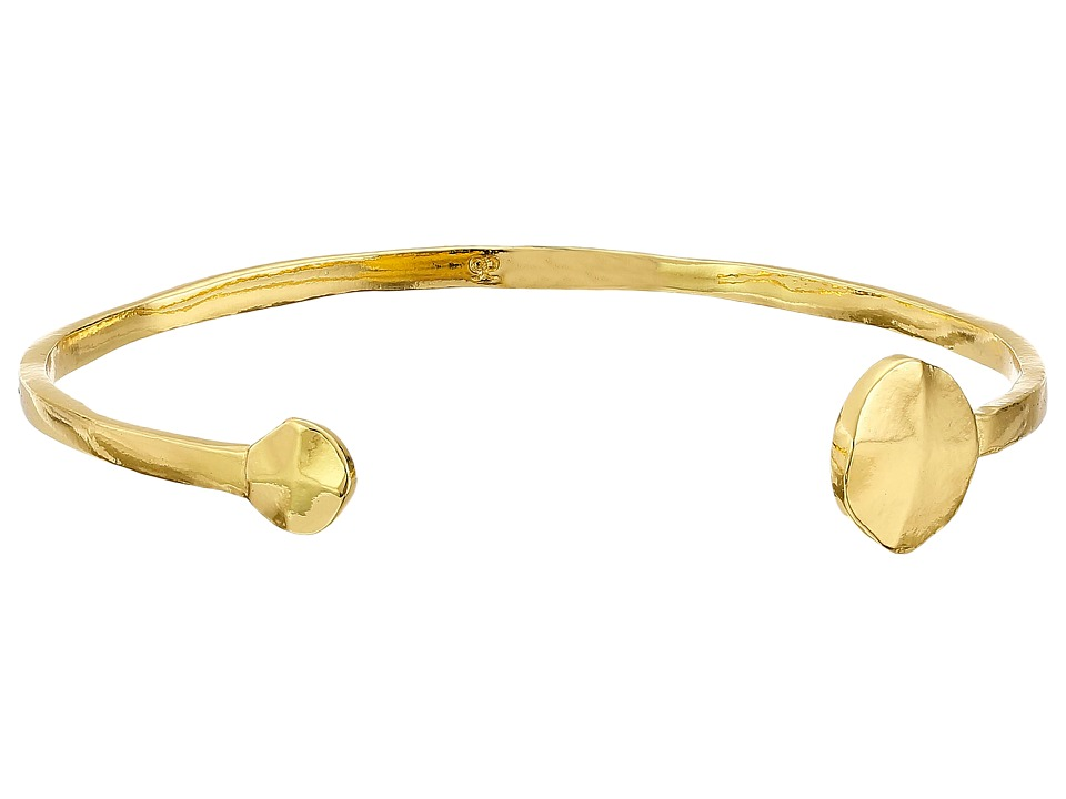 gorjana - Chloe Cuff Bracelet (Gold) Bracelet
