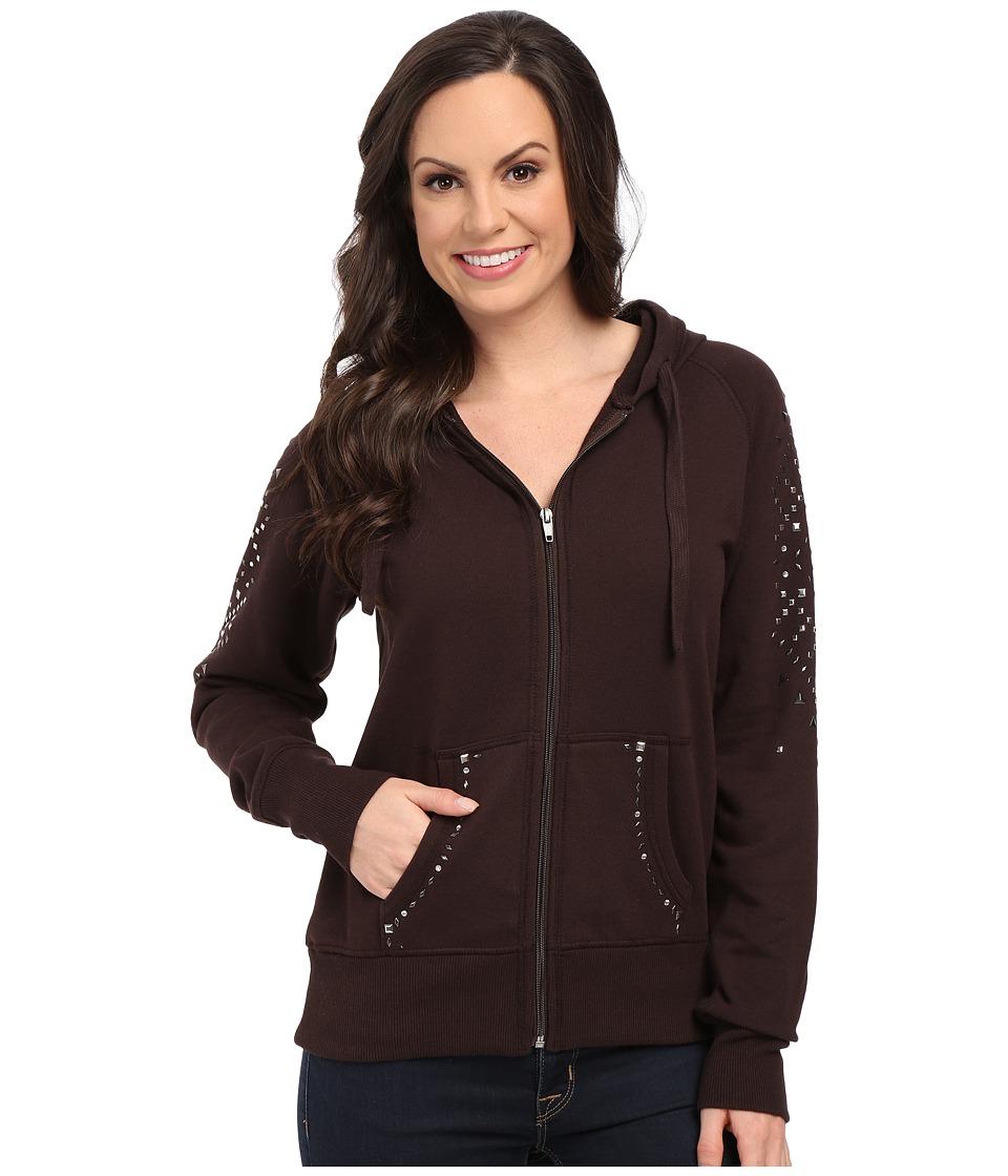 Ariat - Caroline Zip Hoodie (Ganache) Women's Sweatshirt