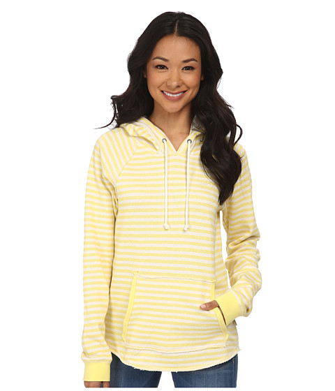 Volcom - Front Page Pullover Fleece (Yellow Flash) Women's Sweatshirt