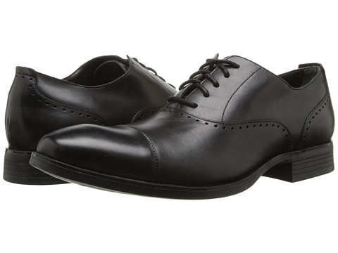 Cole Haan - Copley Captoe Oxford (Black) Men's Lace up casual Shoes