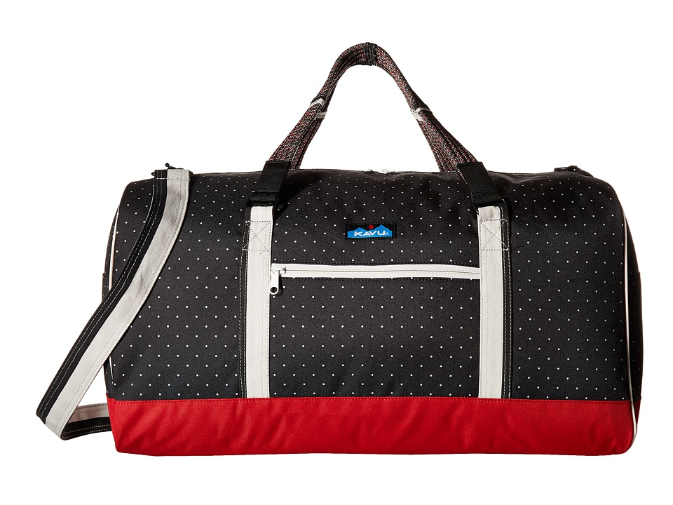 KAVU - Duffy (Black/White Dots) Bags